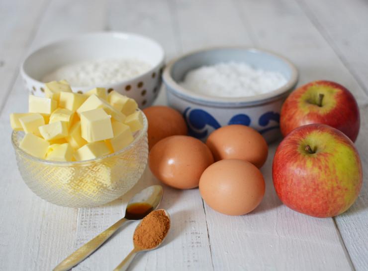 1. Appel kaneel cake