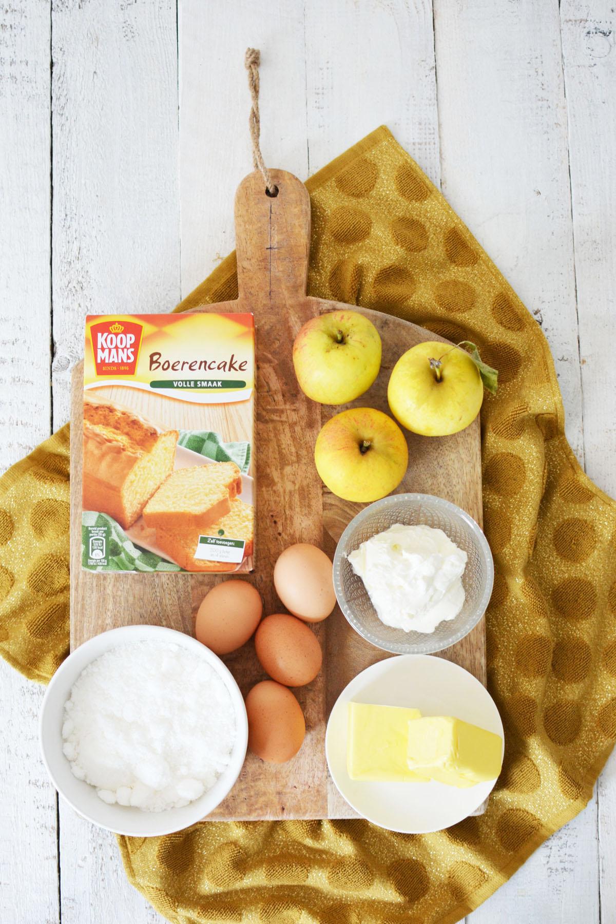 ingredienten-appelkwarkcake