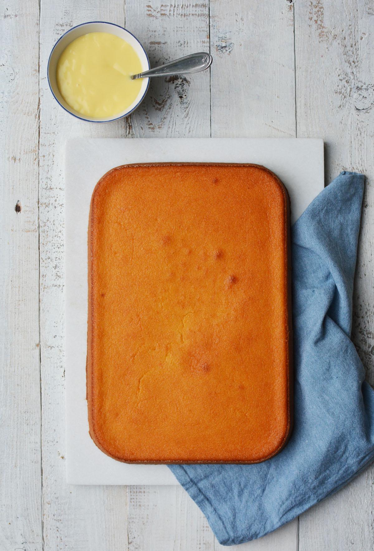 Griesmeel cake 2