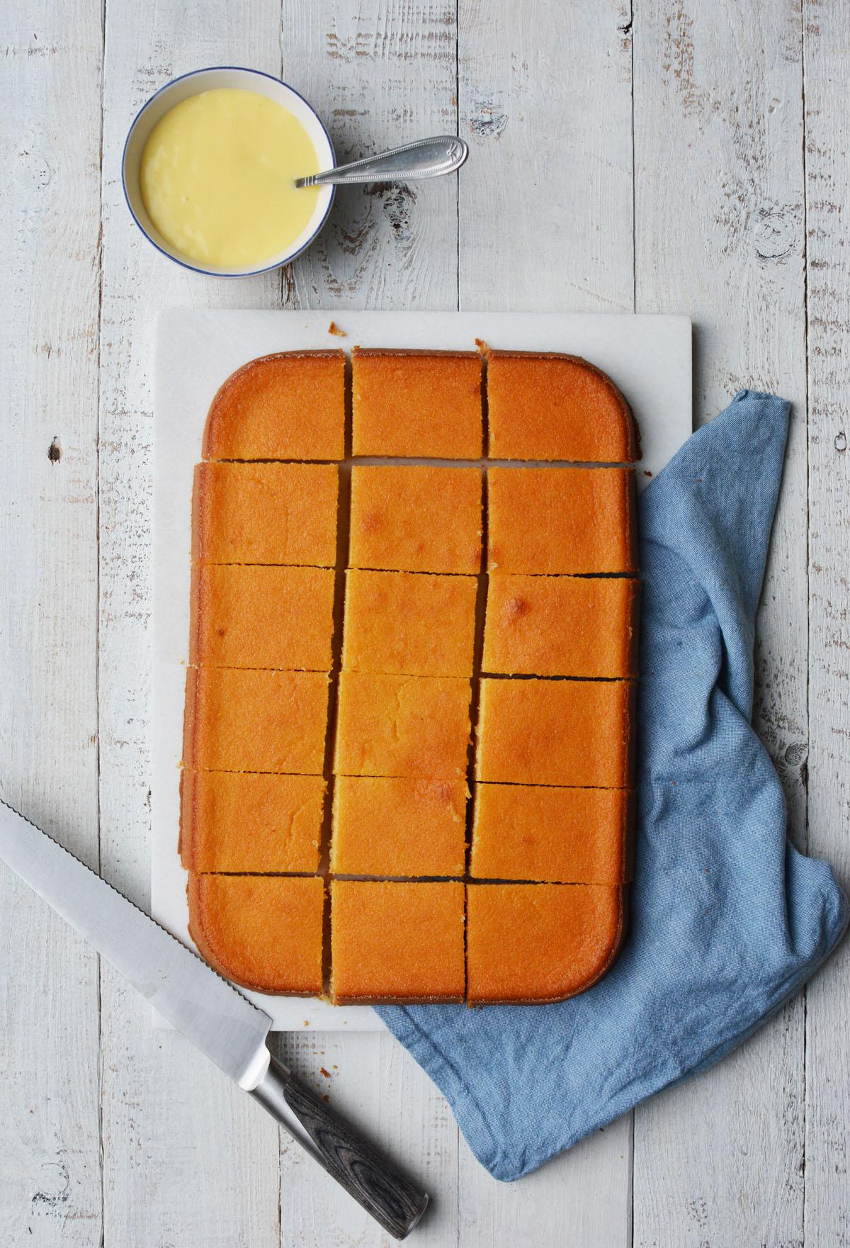 Griesmeel cake 3