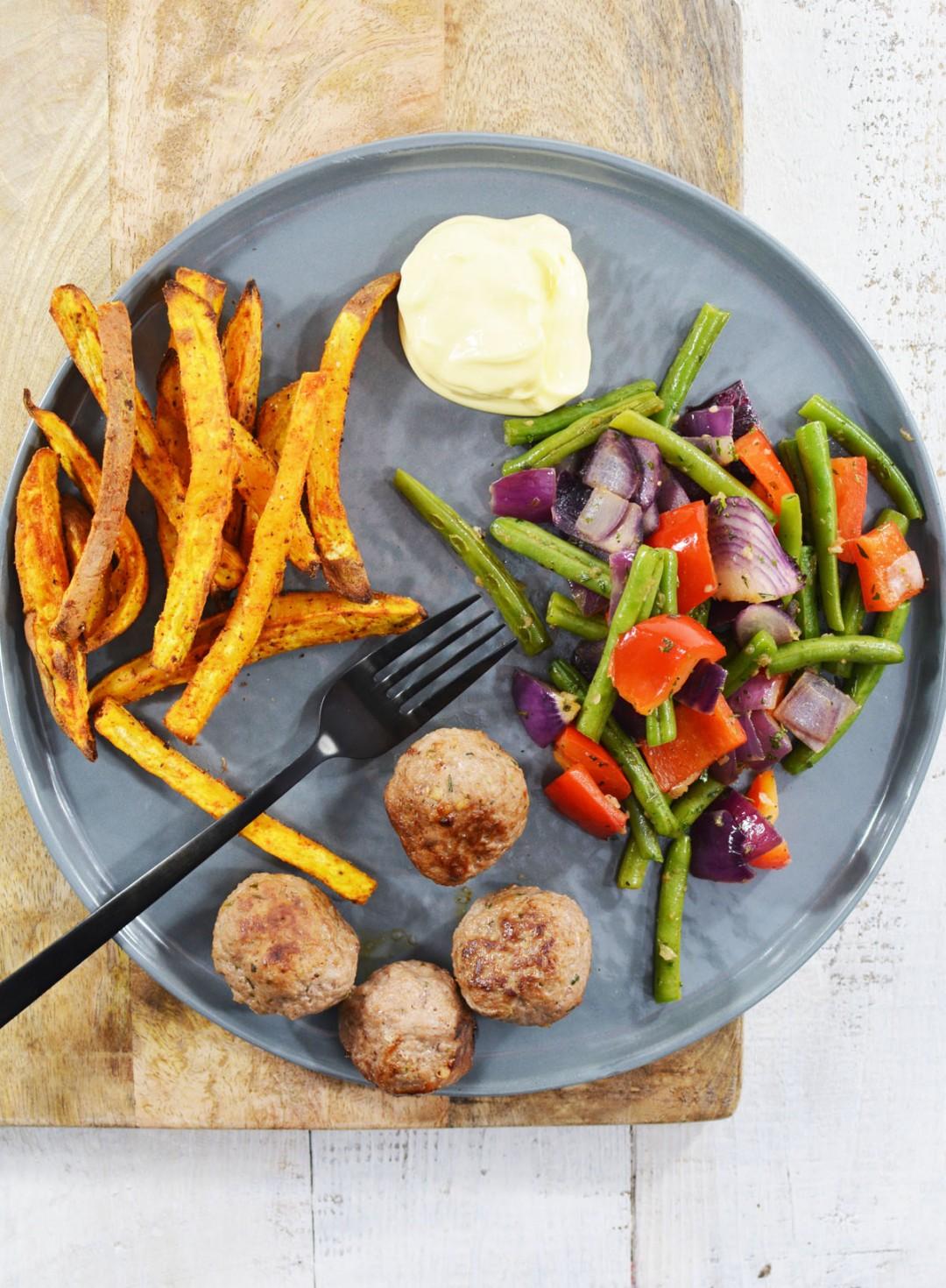 Zoete aardappelfriet 4