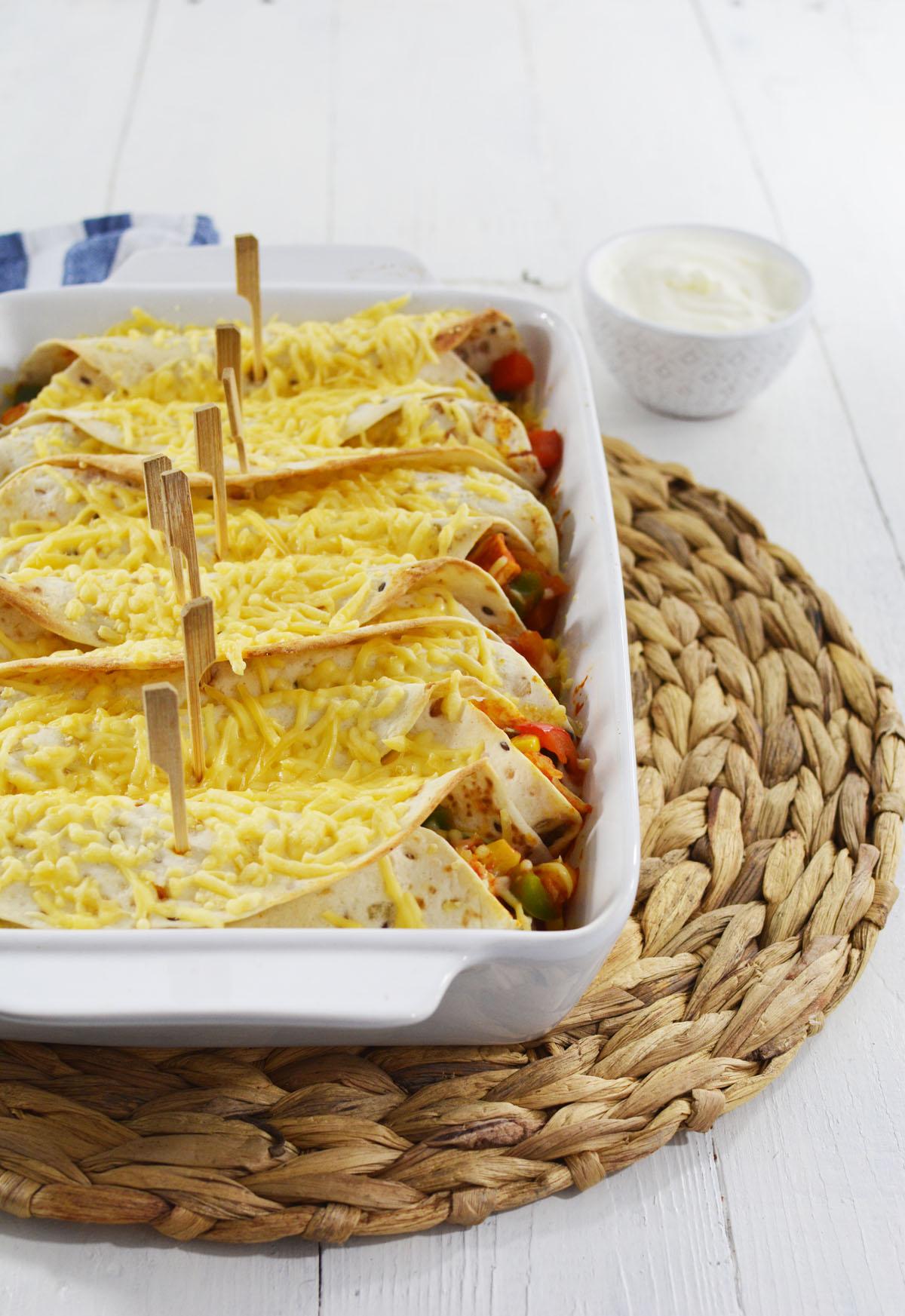 Burrito's met kip 3