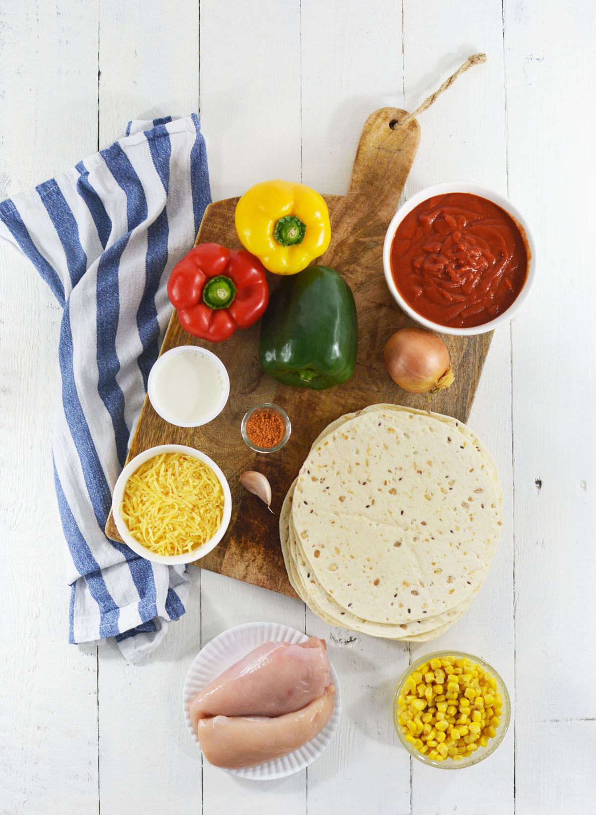 Burrito's met kip 9