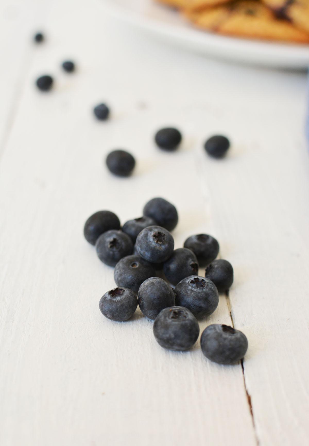Havermoutkoeken met blauwe bessen 10