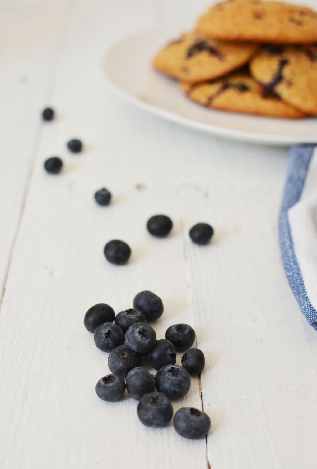 Havermoutkoeken met blauwe bessen 9