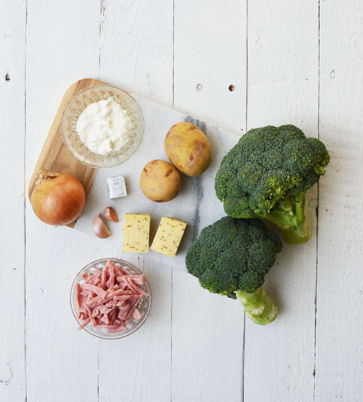 Broccolisoep ingredienten