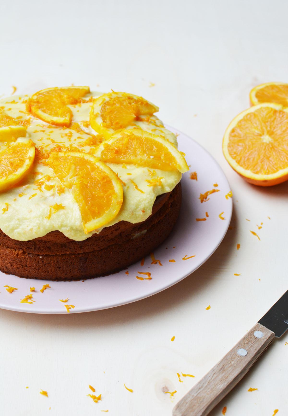 Sinaasappeltaartje 4