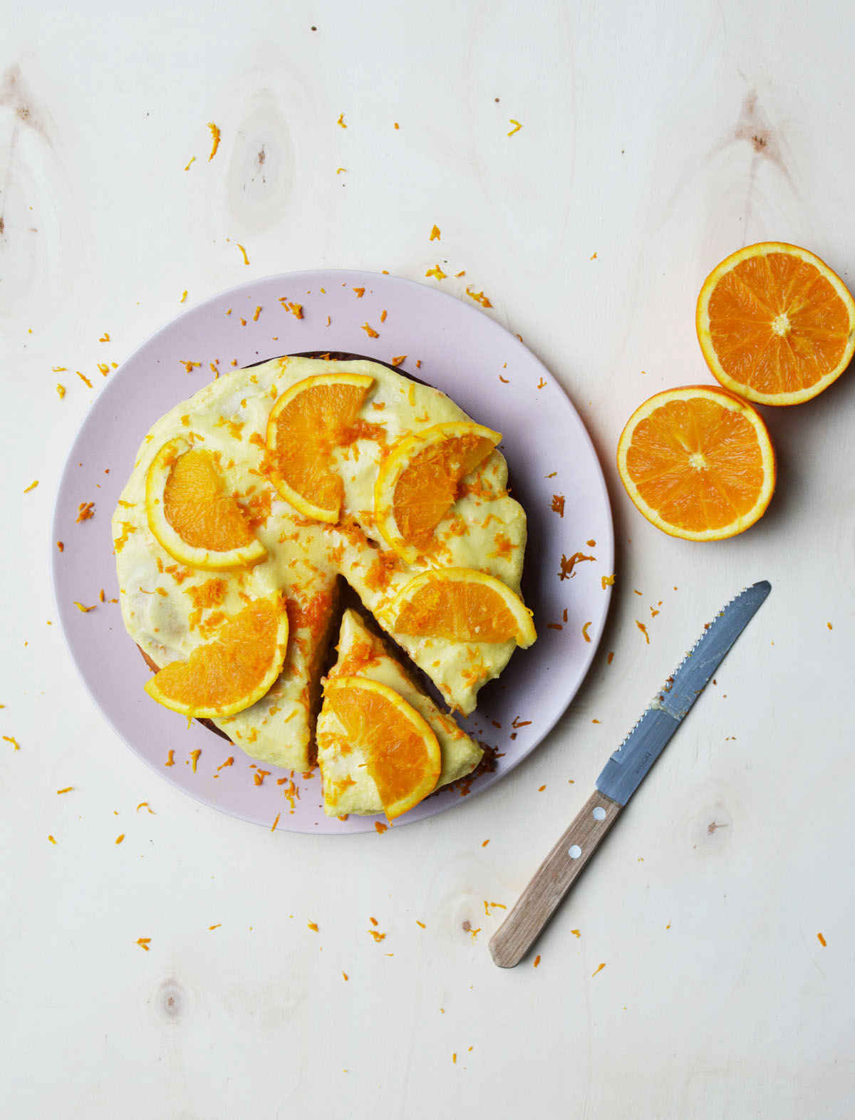 Sinaasappeltaartje 8