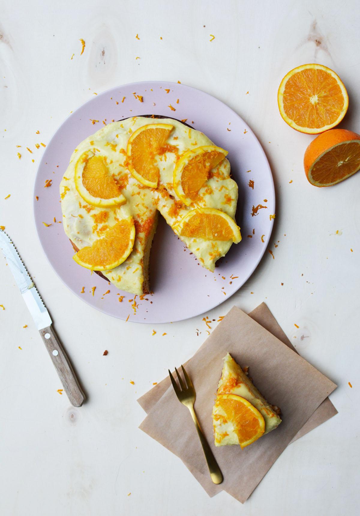 Sinaasappeltaartje 9