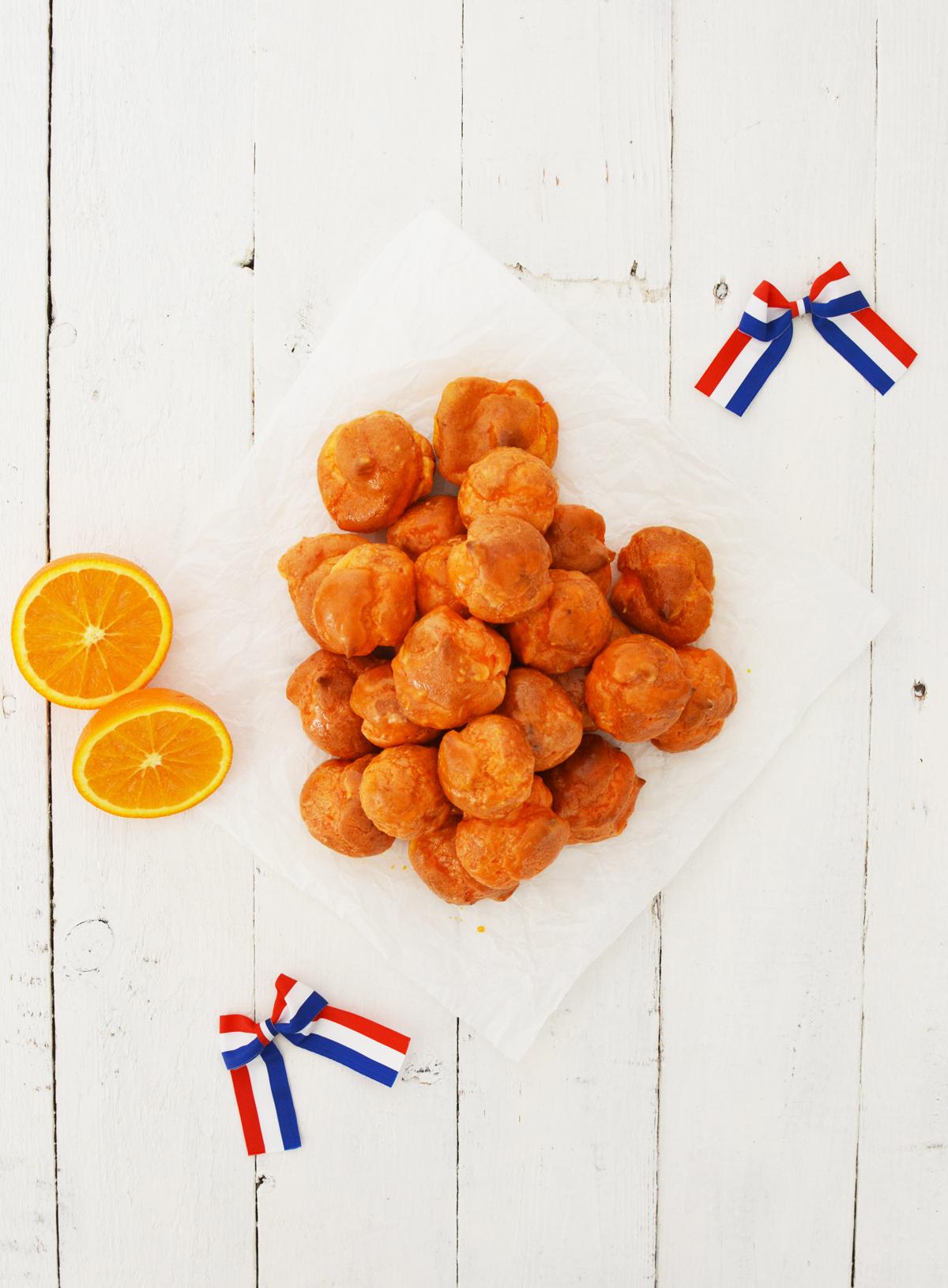 Oranje soesje met sinaasappel 1