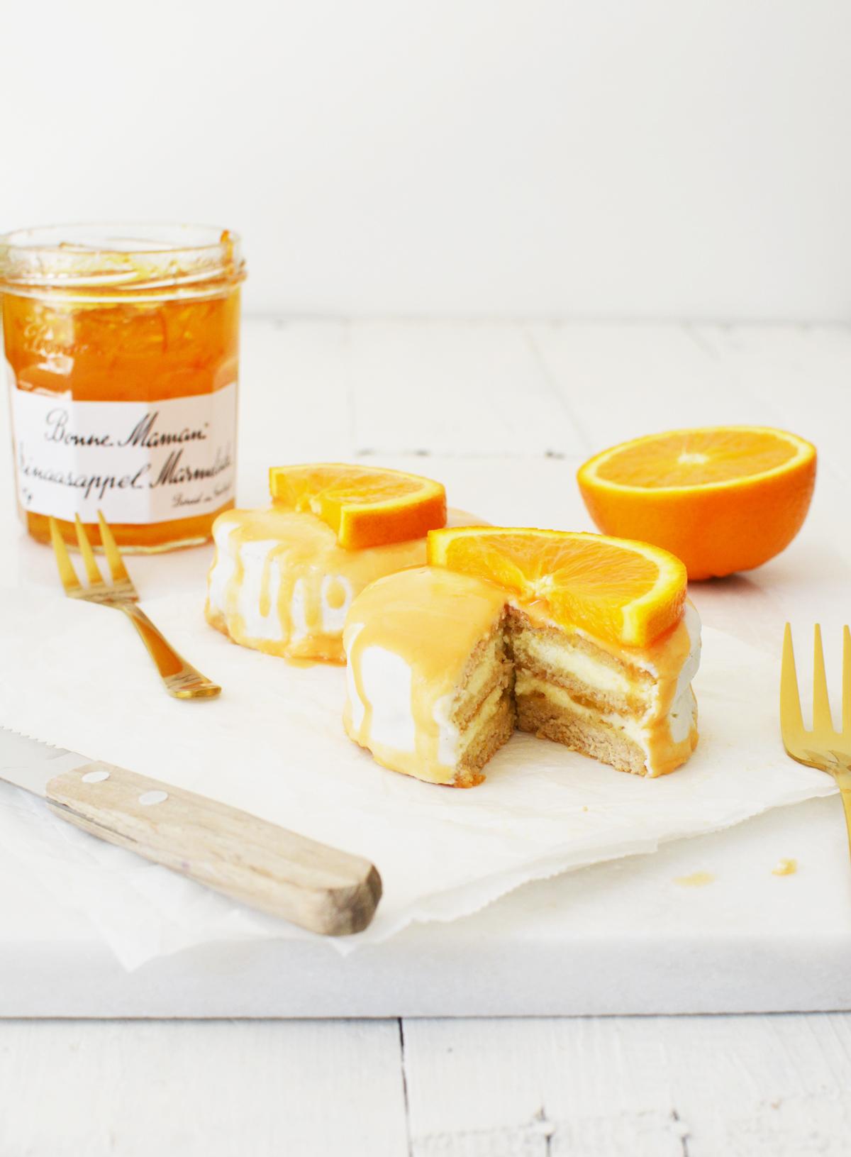 Oranje taartjes 19