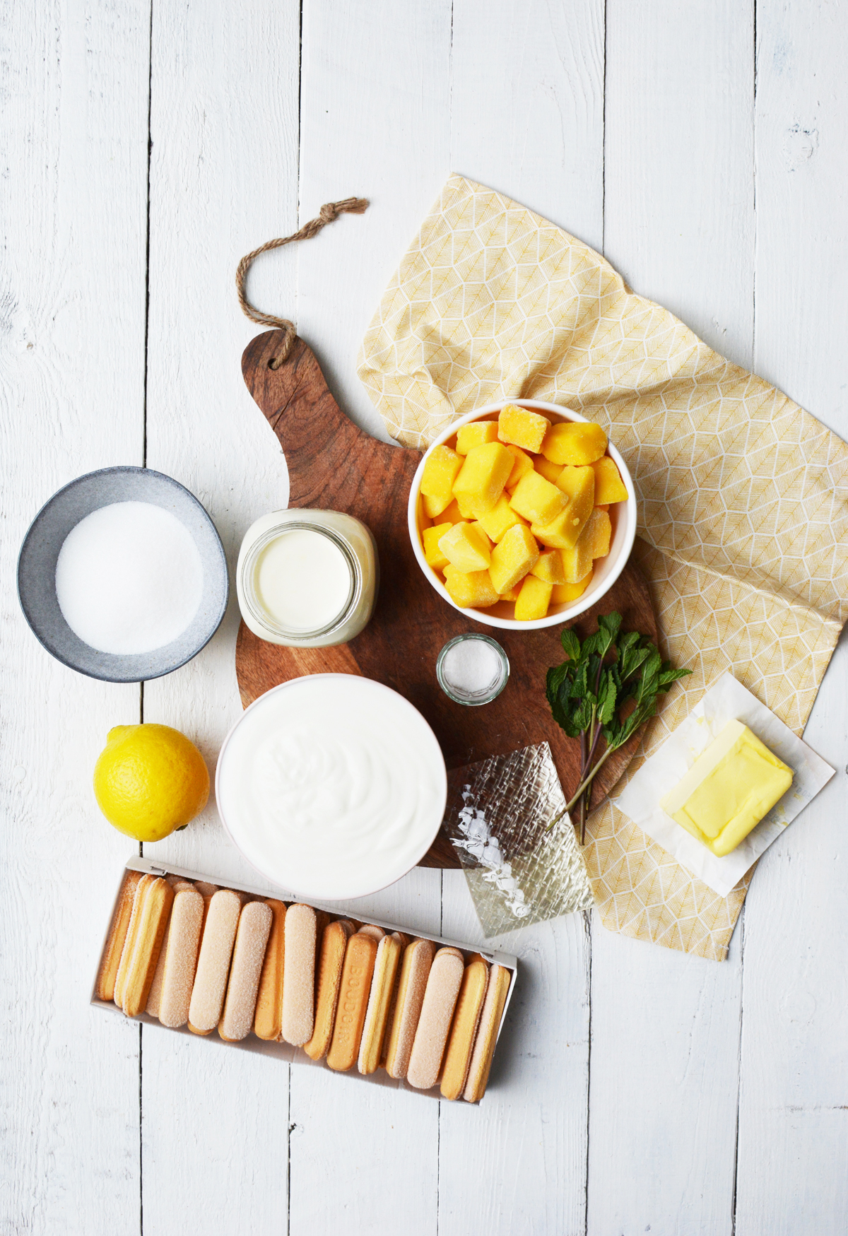 Mango-yoghurttaart 13