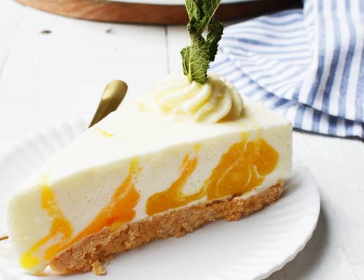 Mango-yoghurttaart 8
