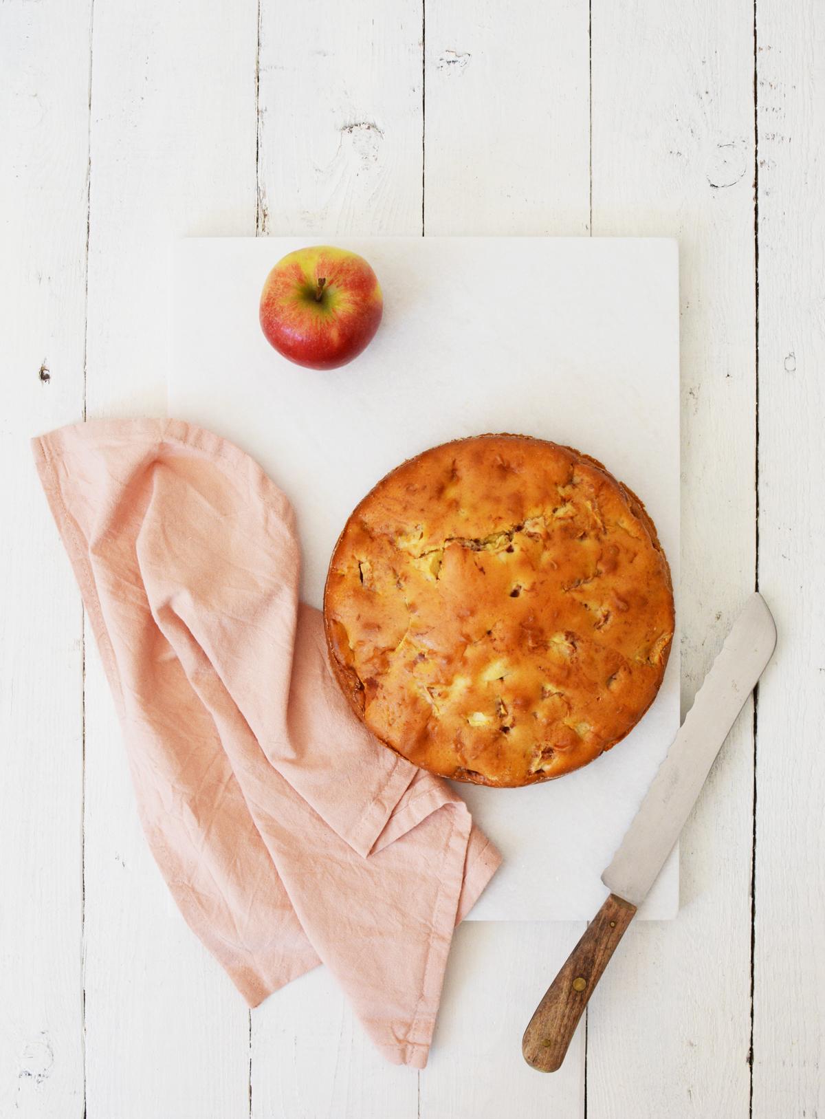 Verzonken appeltaart 1