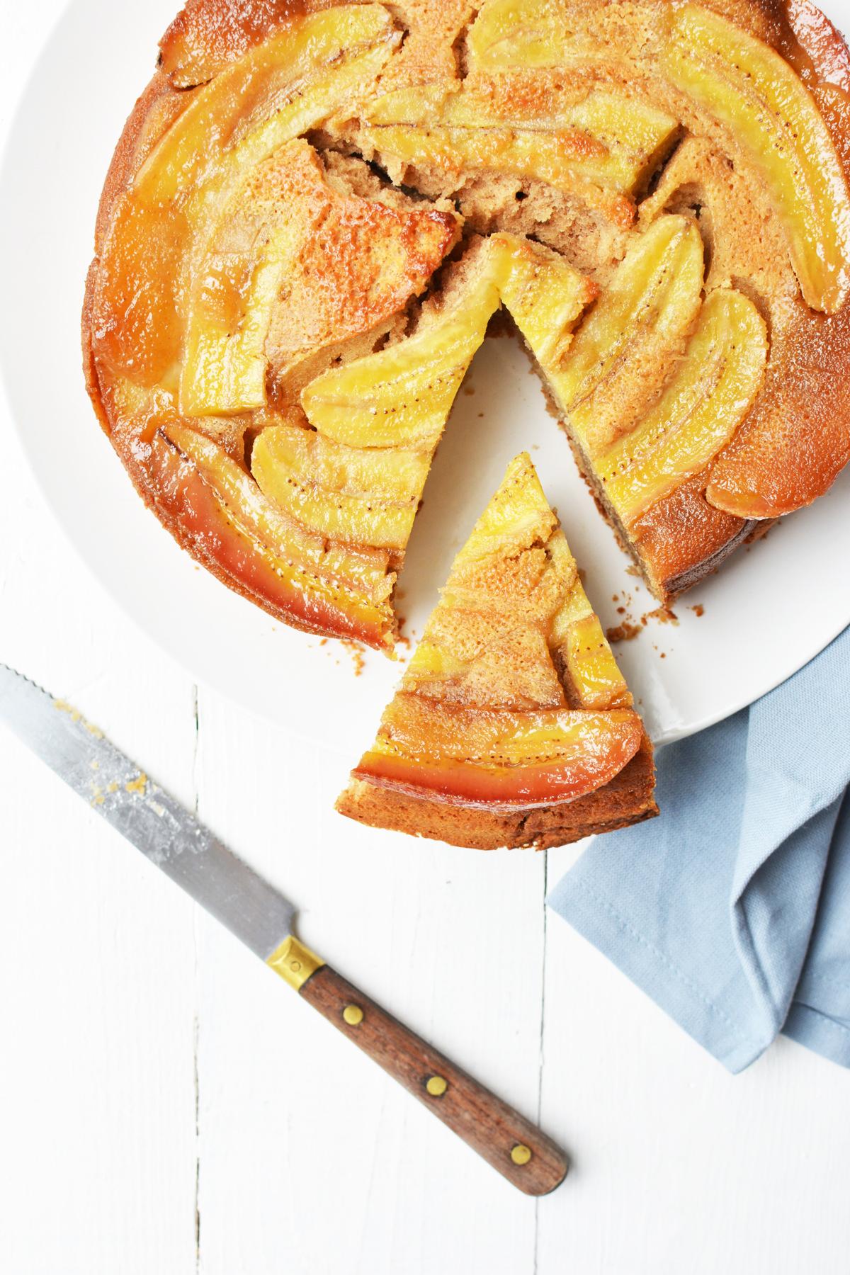 Bananencake met gember 4