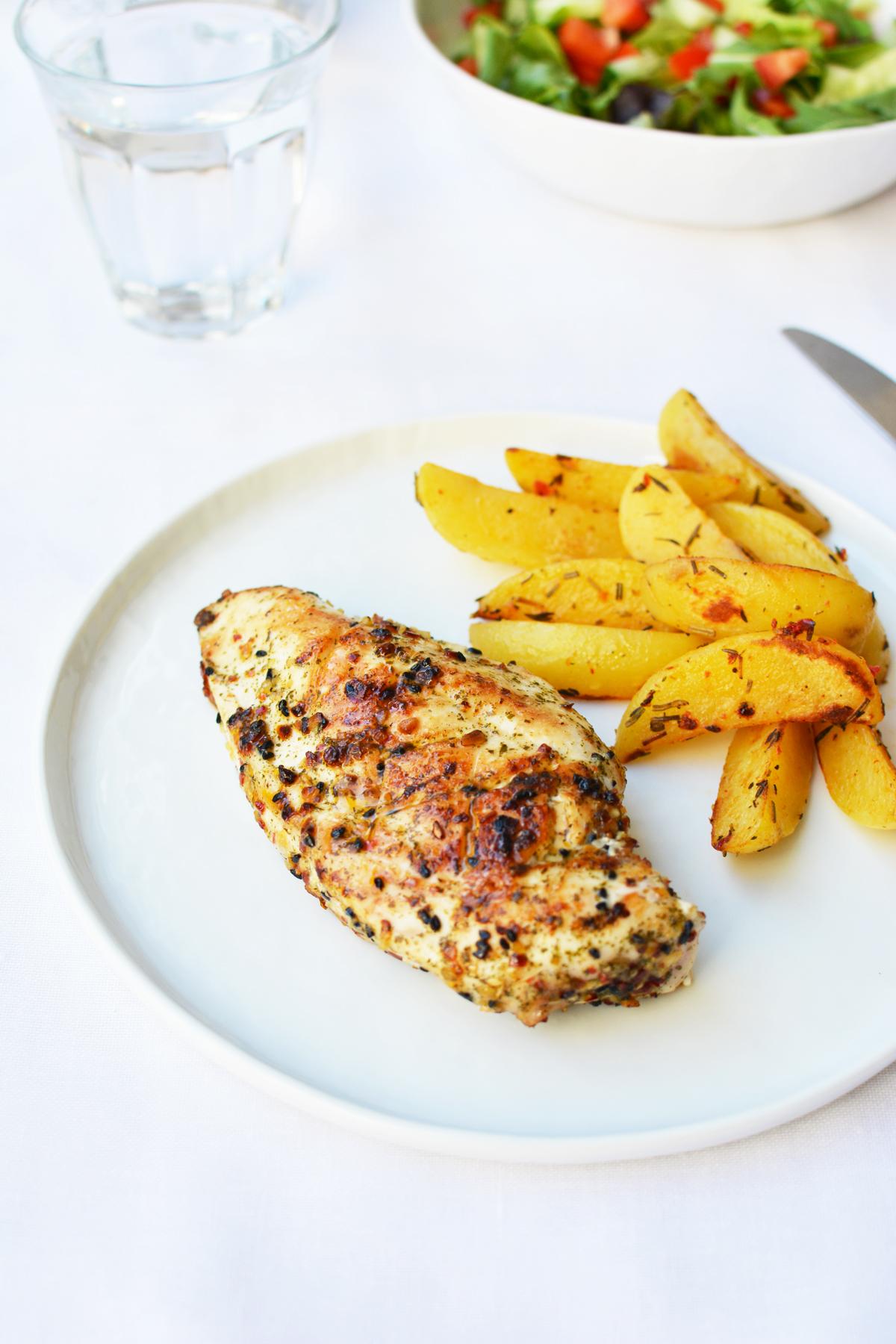 Gegrilde kip met Caribbean spice 3