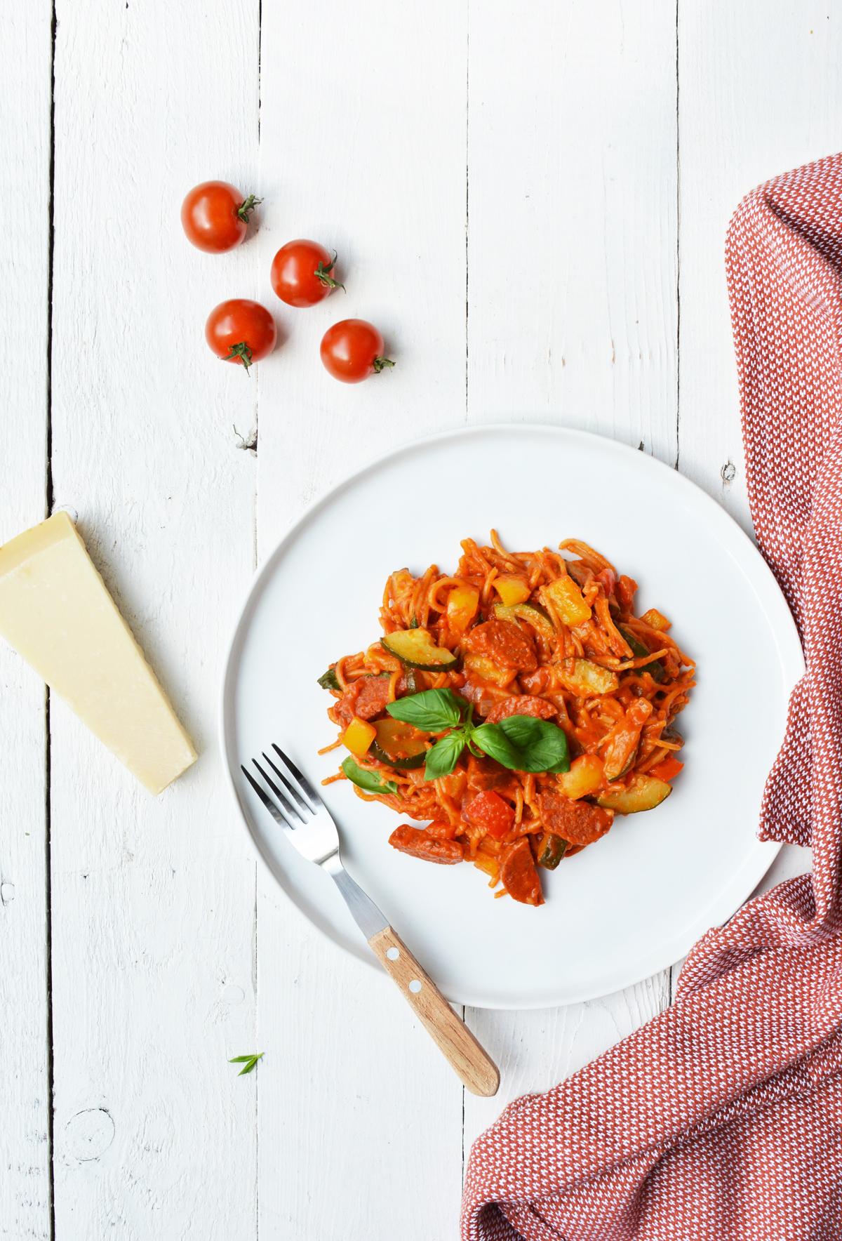 One pot pasta 9.1.
