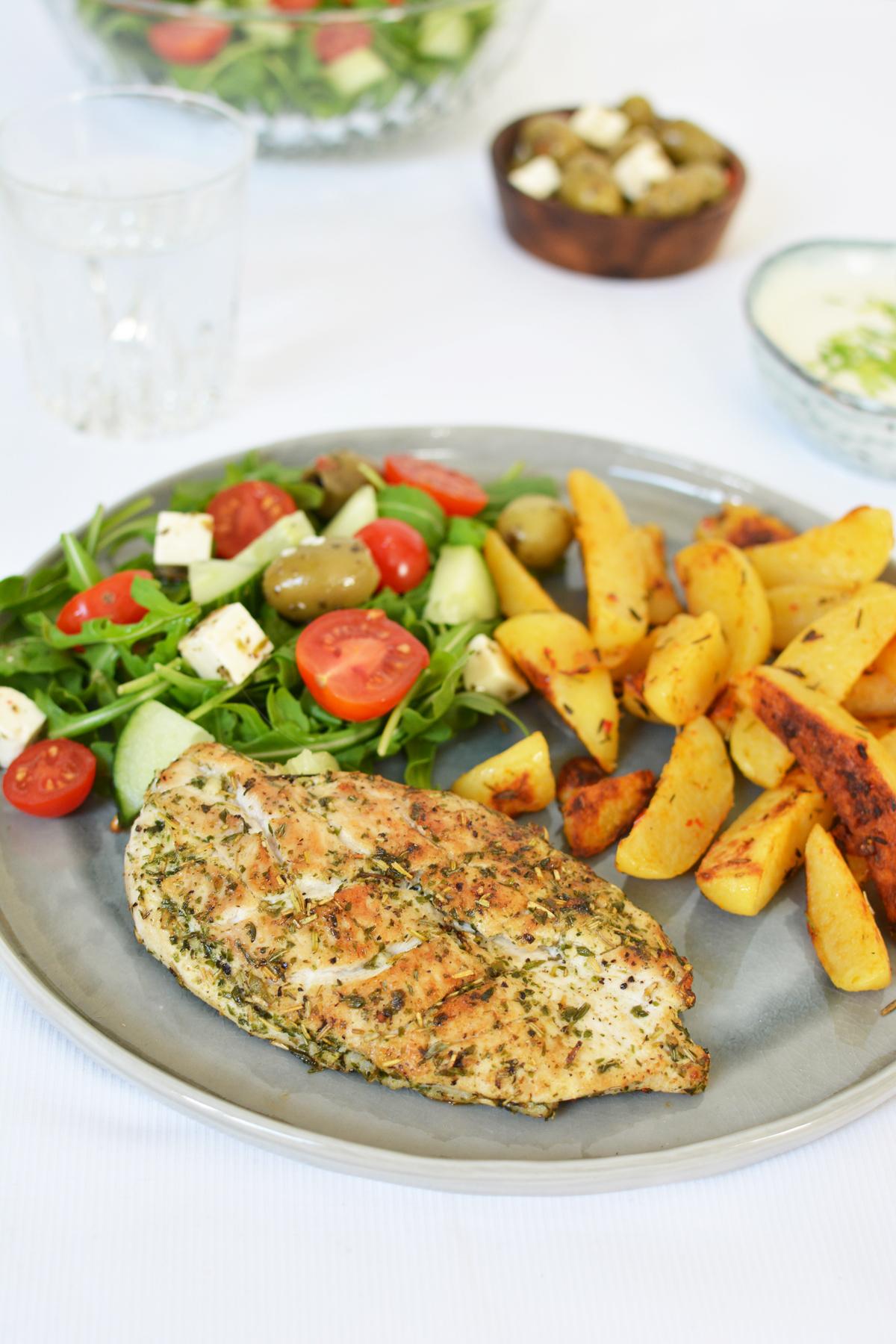Grieks gemarineerde kip 13