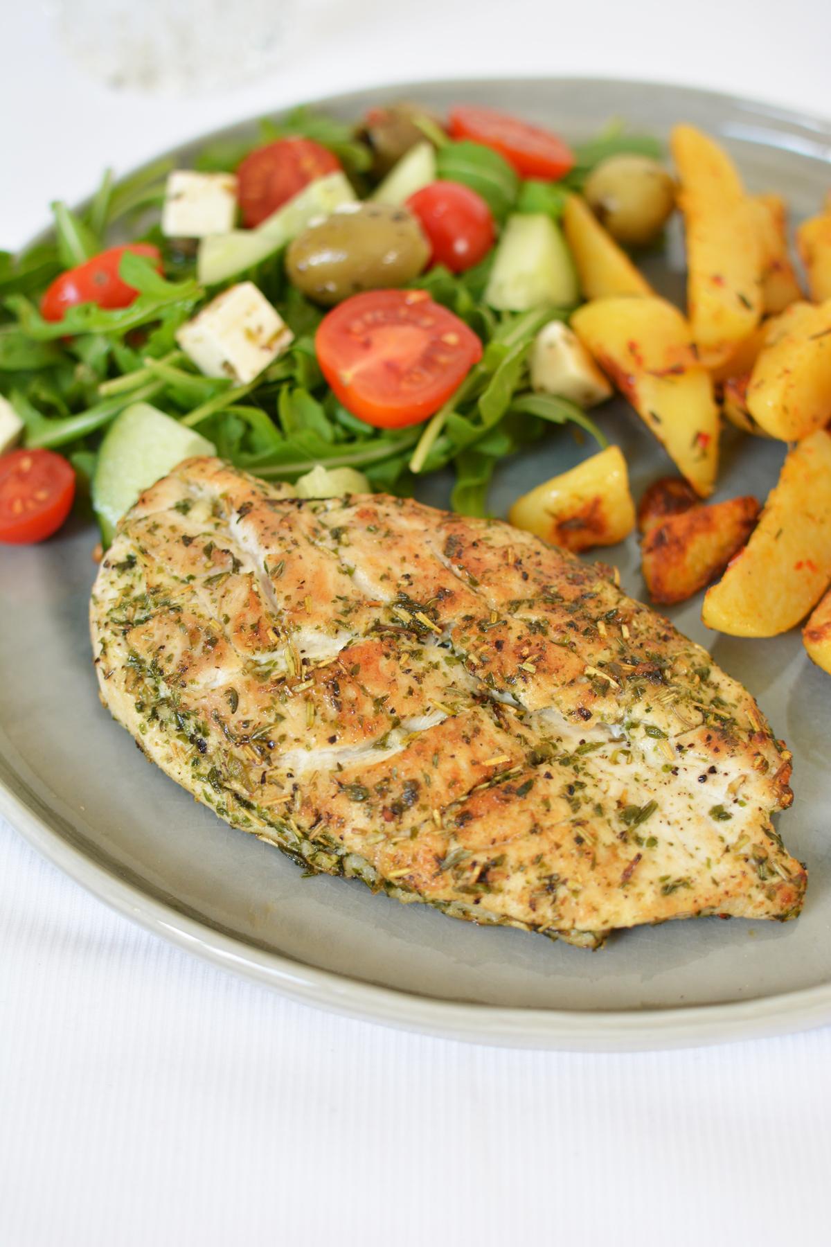 Grieks gemarineerde kip 4