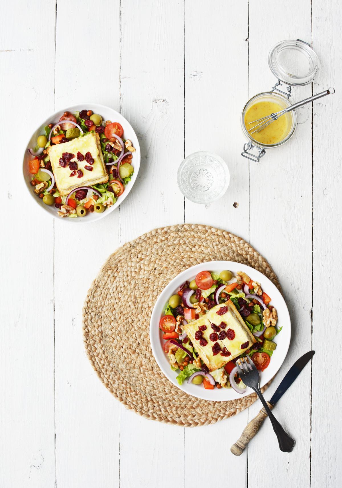 Salade met brie crouton 1