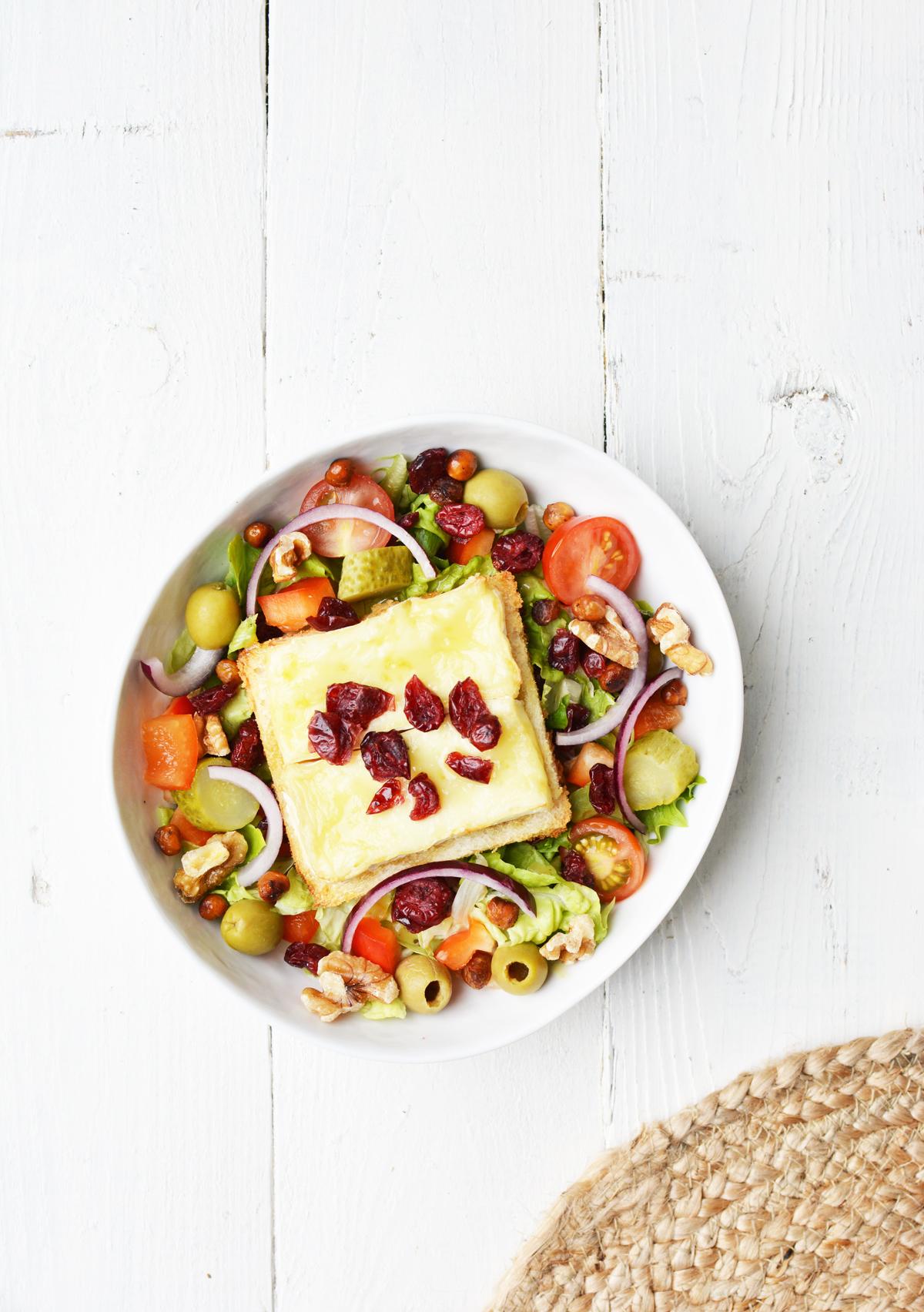 Salade met brie crouton 11