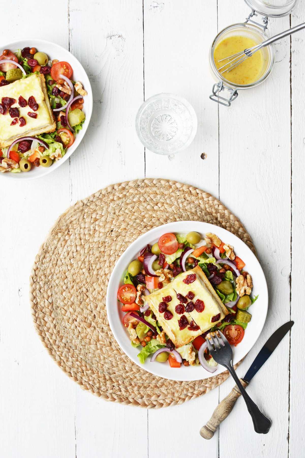 Salade met brie crouton 3