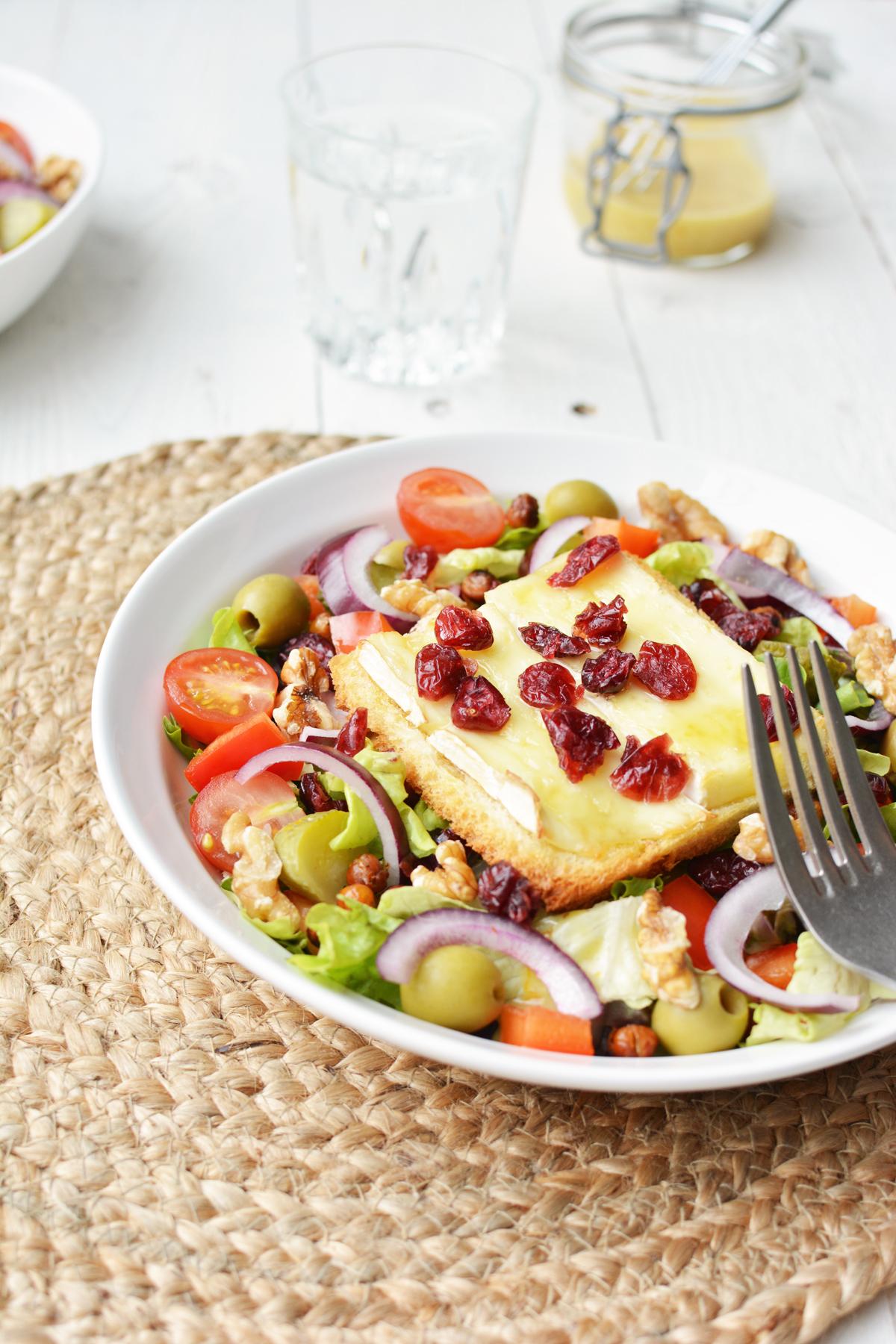 Salade met brie crouton 6