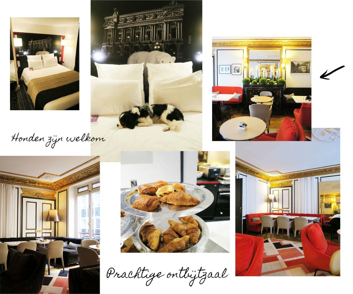 Collage Hotel 2 met tekst