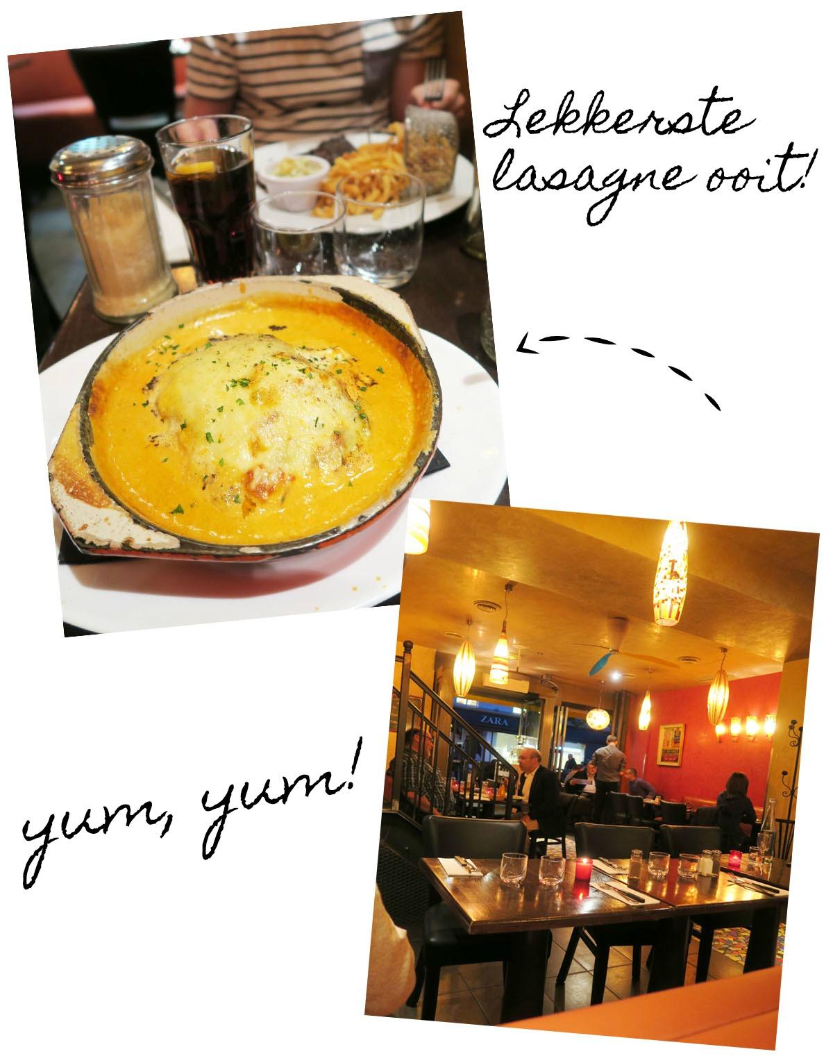 Collage Lasagne