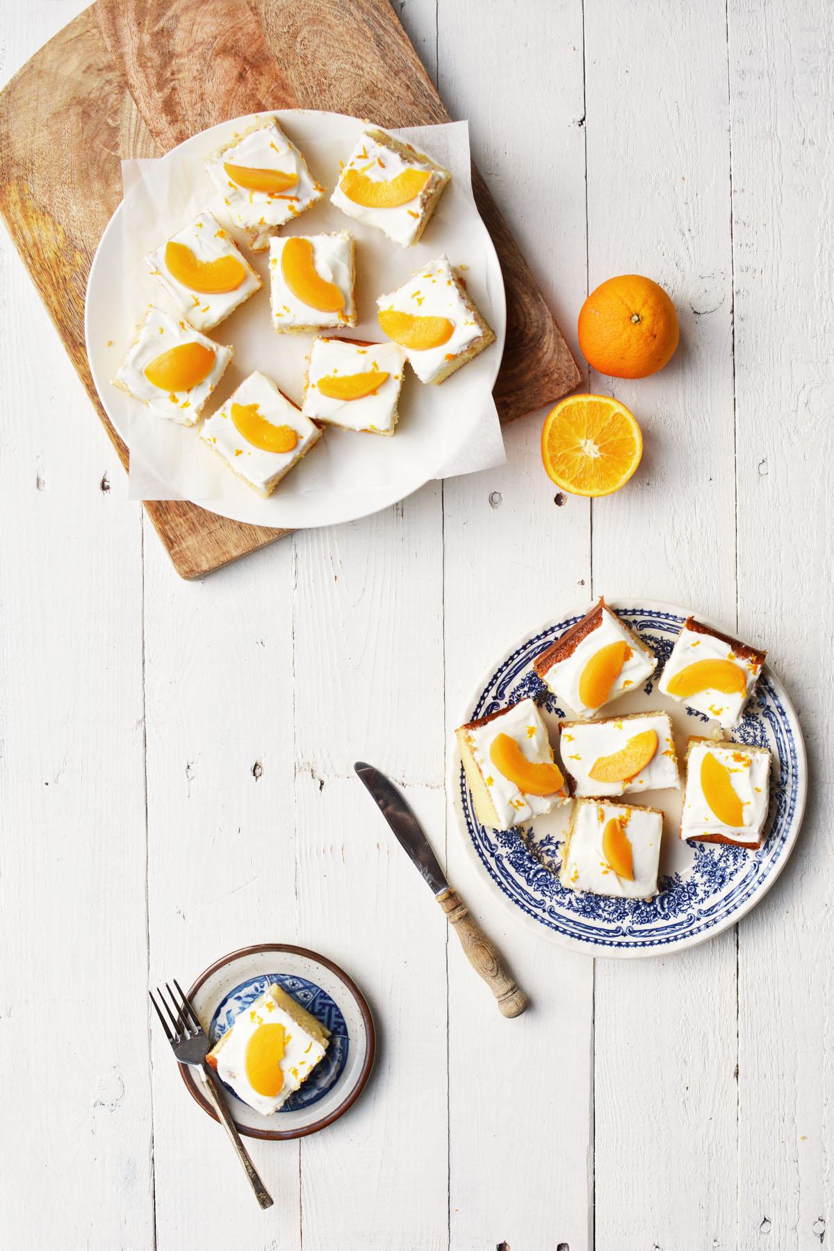 Perzik yoghurtcake met sinaasappel 14