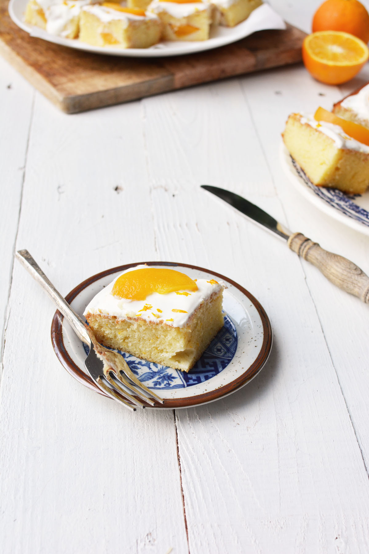 Perzik yoghurtcake met sinaasappel 15