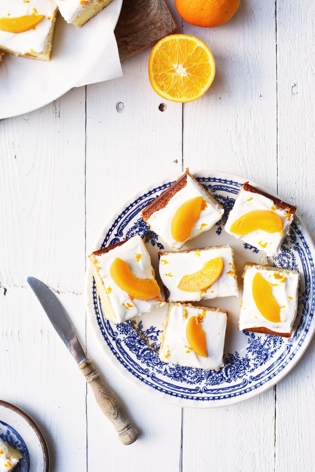 Perzik yoghurtcake met sinaasappel 17 2