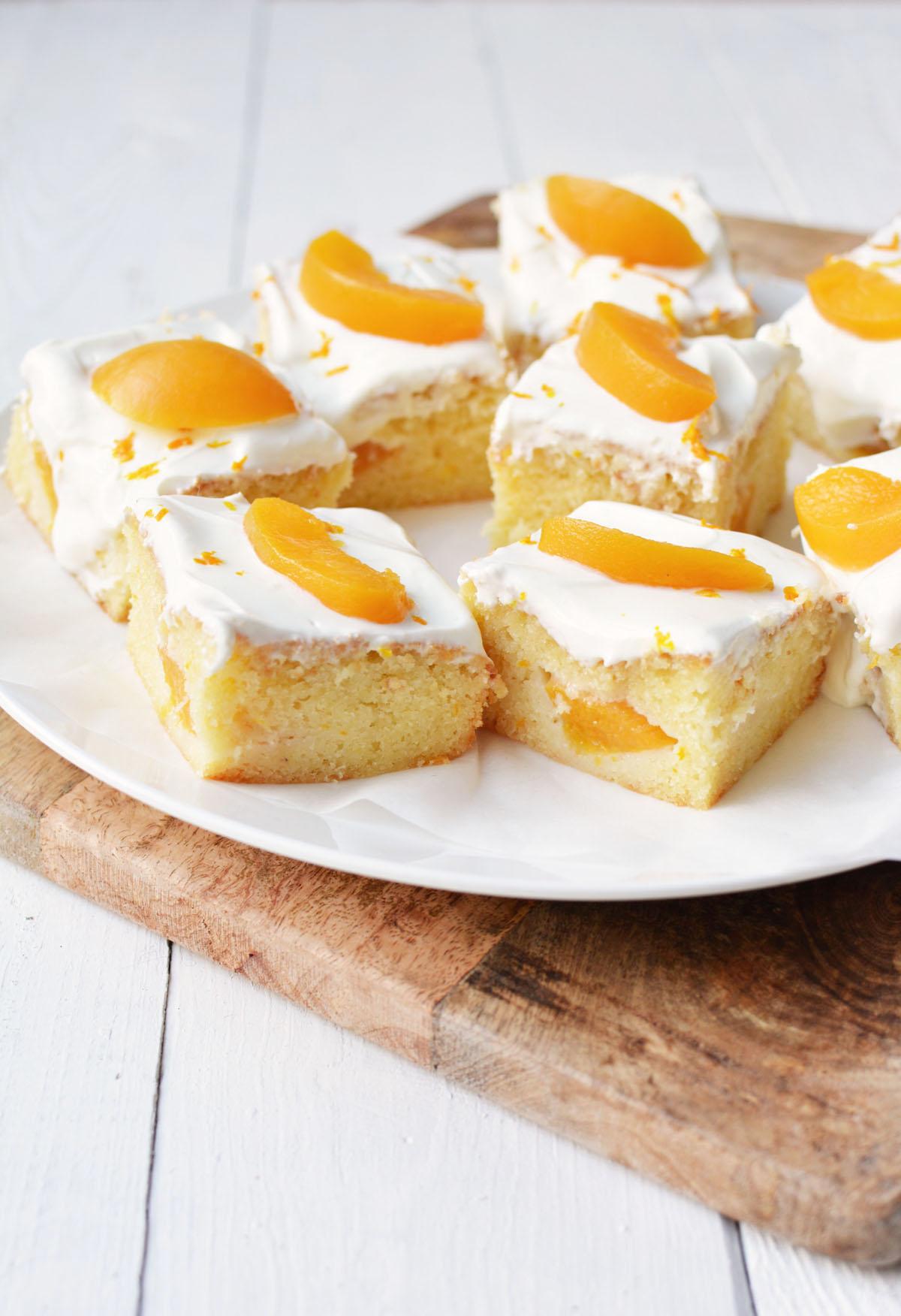 Perzik yoghurtcake met sinaasappel 3