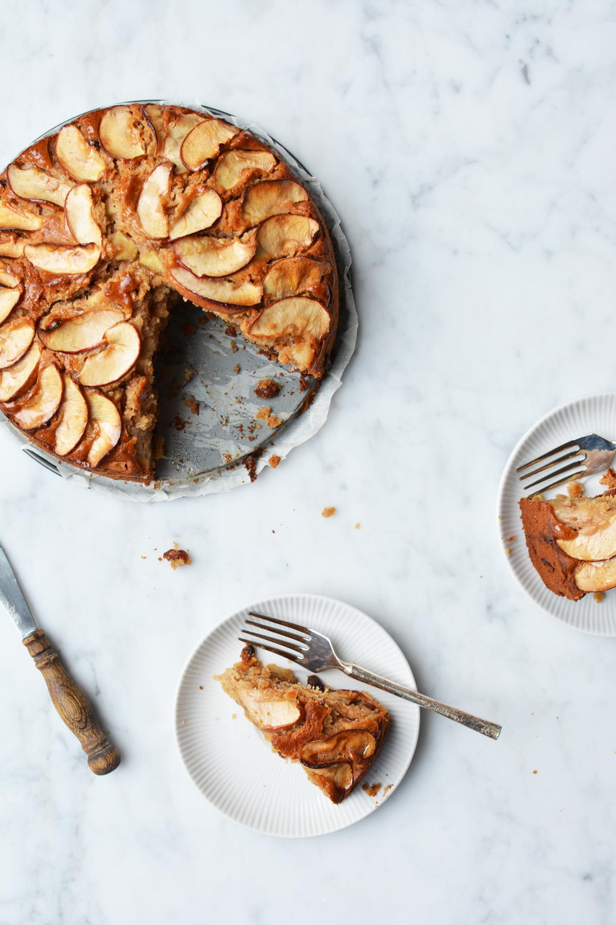 Appel-Amaretto cake 25