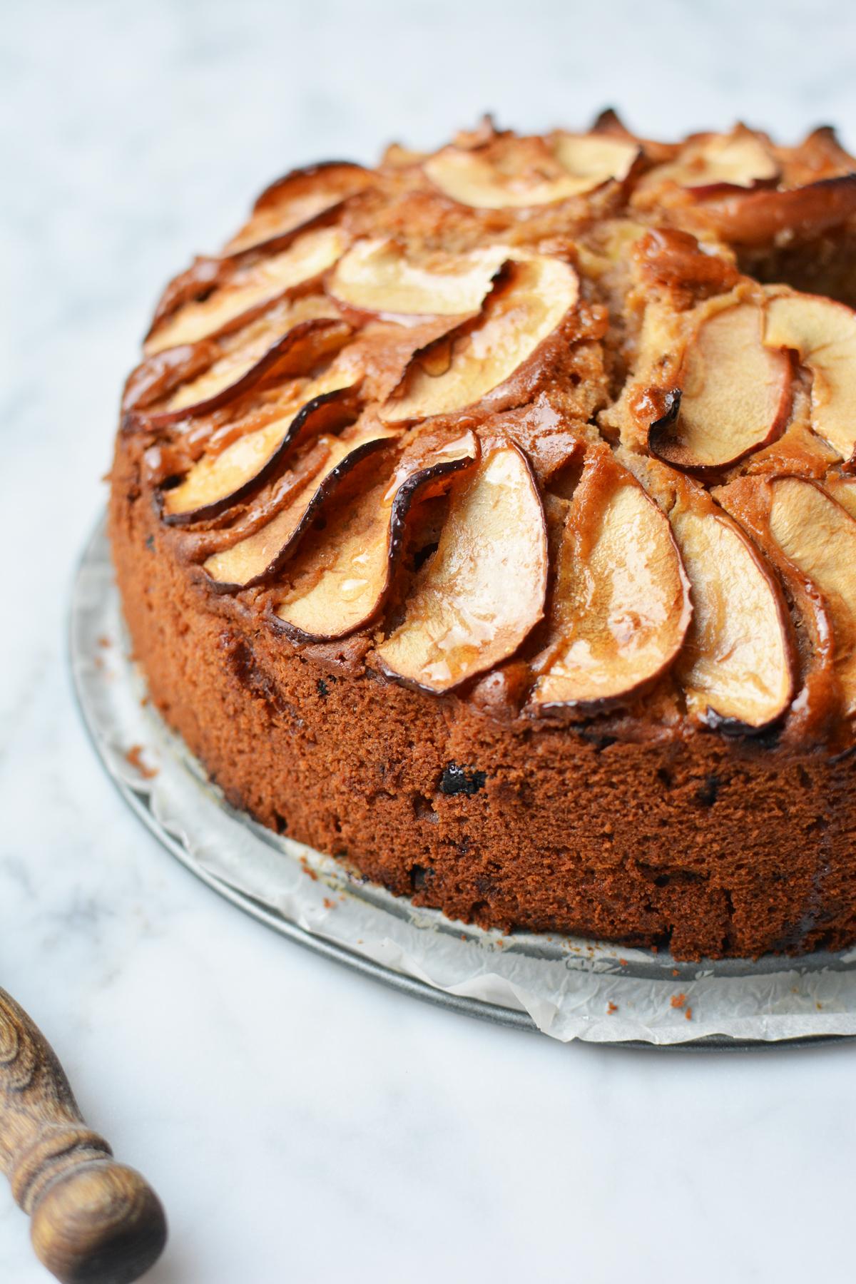 Appel-Amaretto cake 32