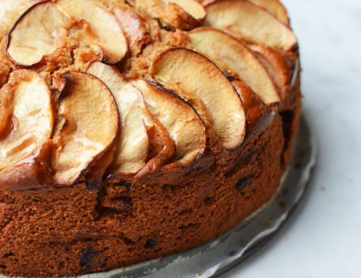 Appel-Amaretto cake 38
