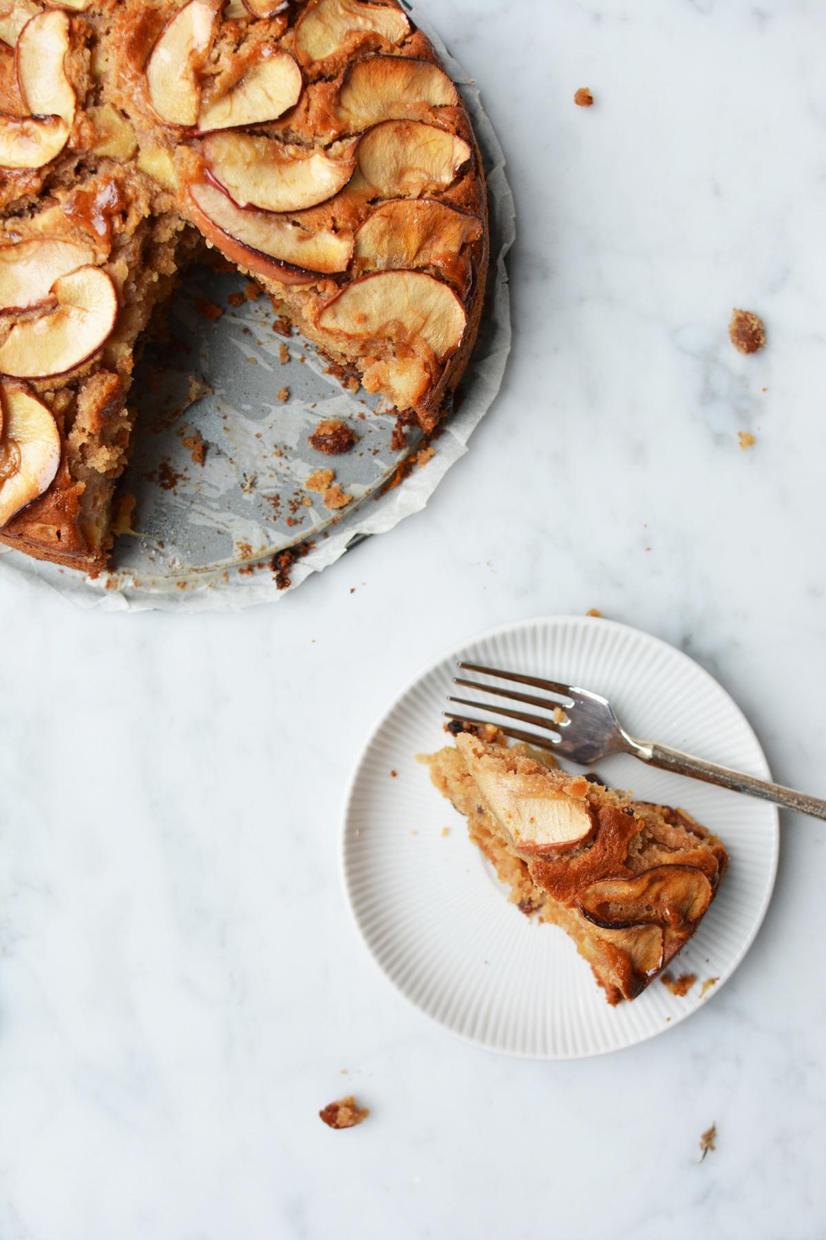 Appel-Amaretto cake 46