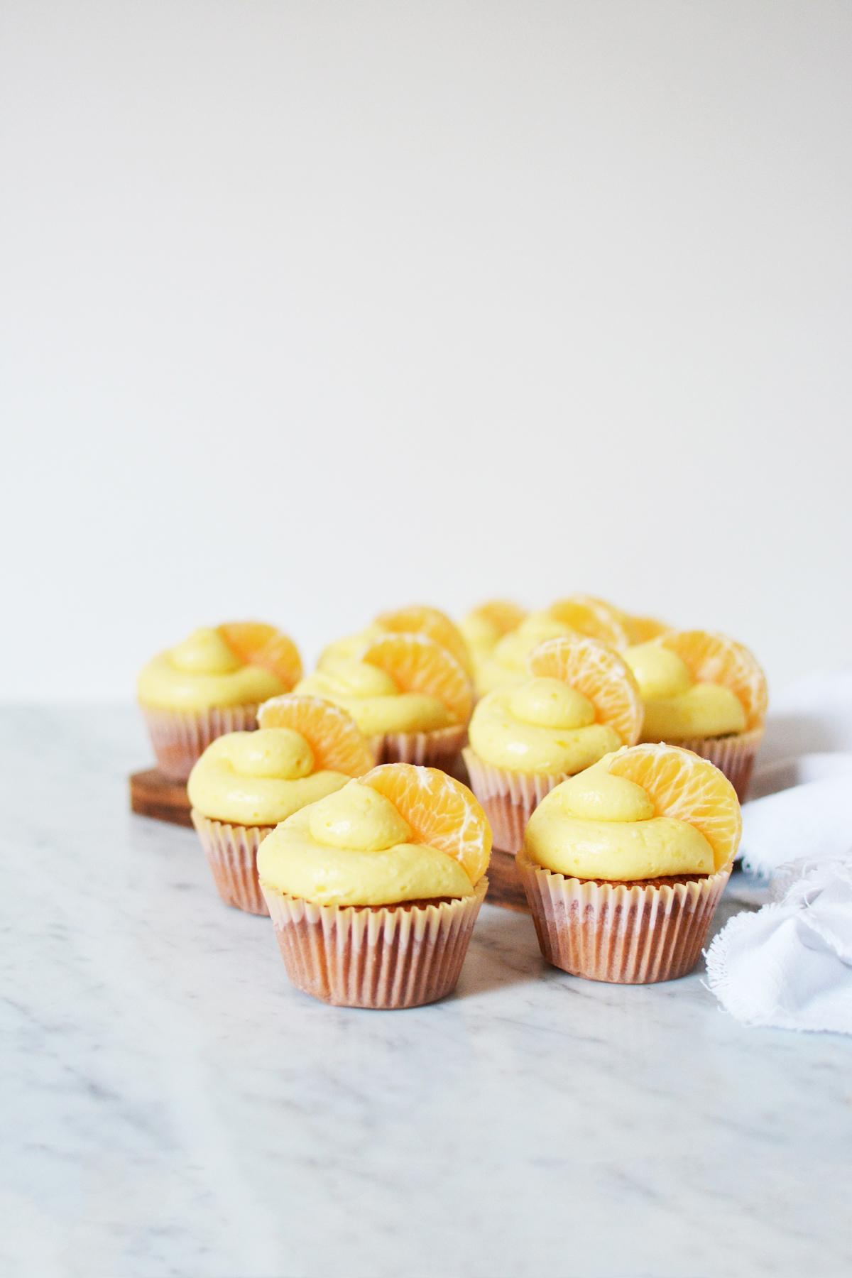 Mandarijncupcakes 2
