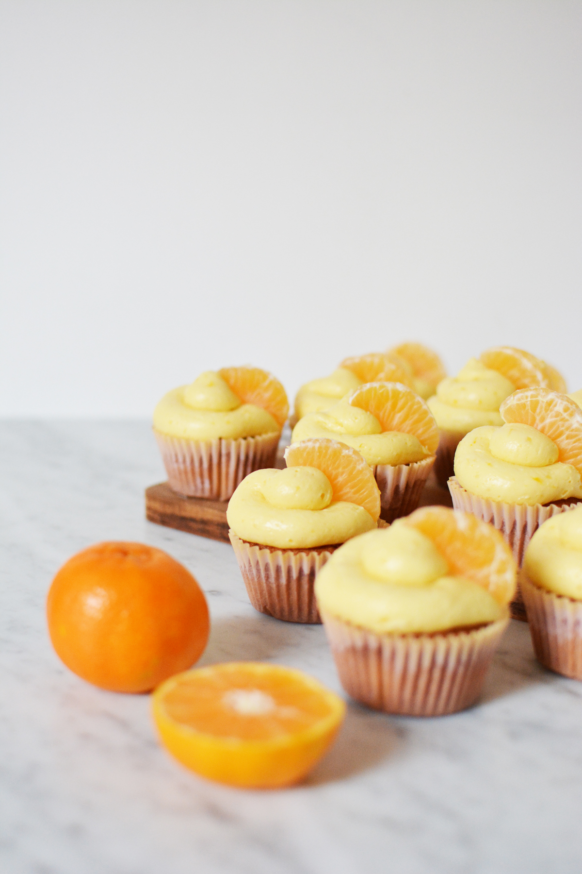 Mandarijncupcakes 9