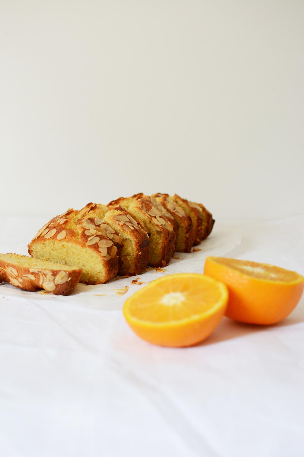 Sinaasappel-amandelcake 38