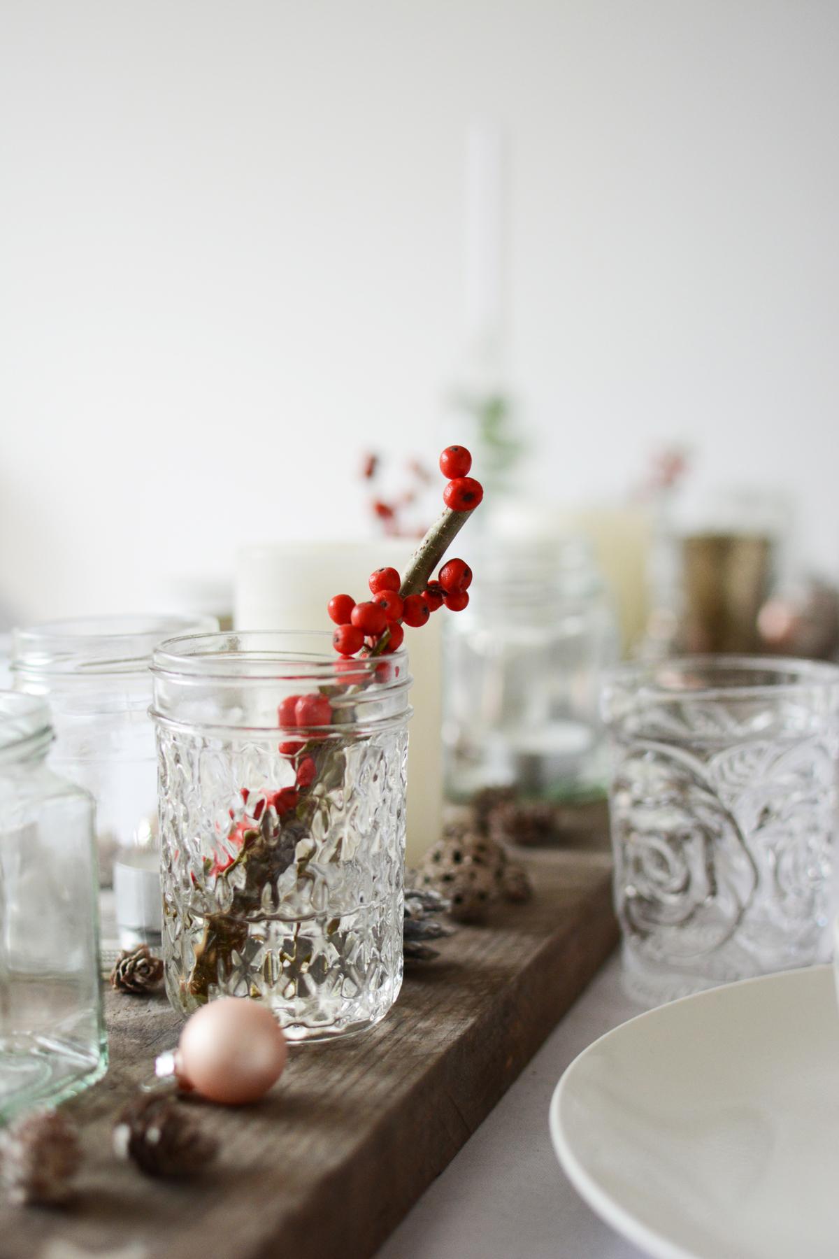 Witte kersttafel 14