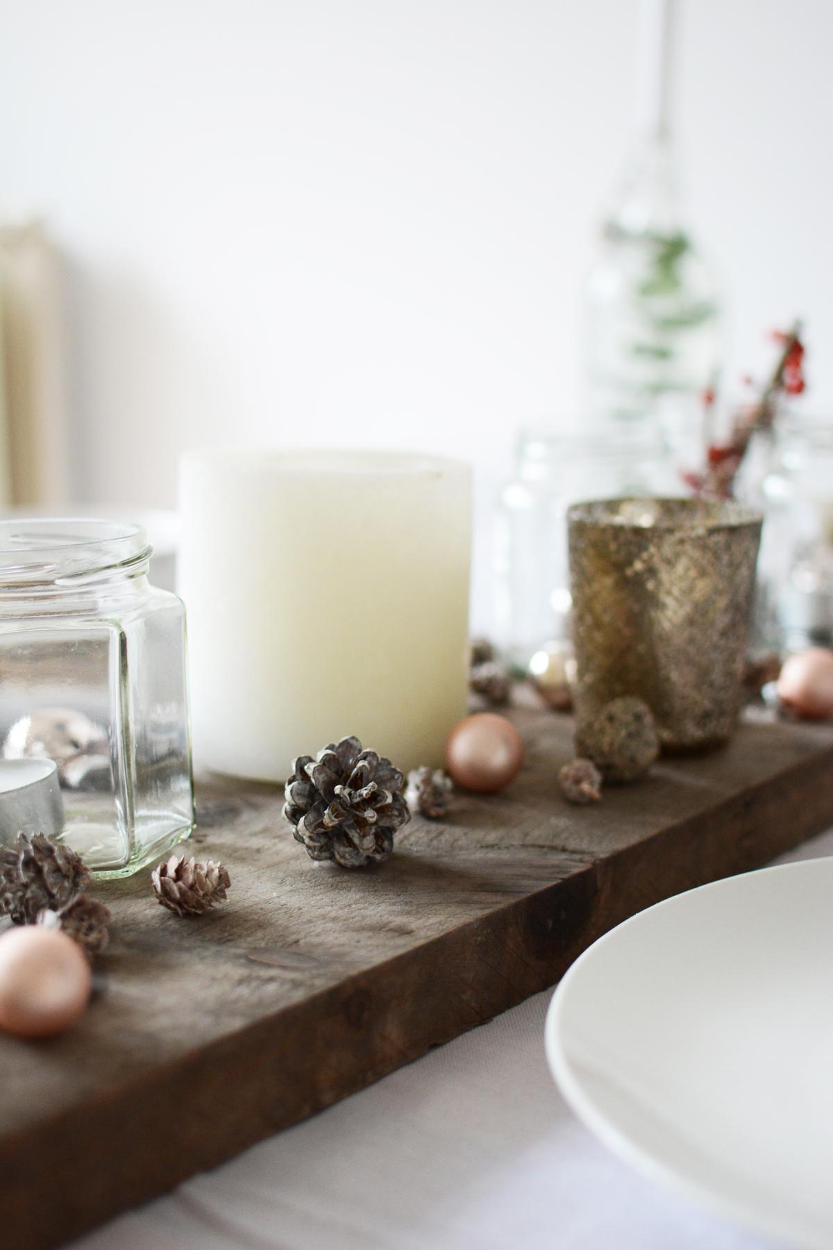 Witte kersttafel 16