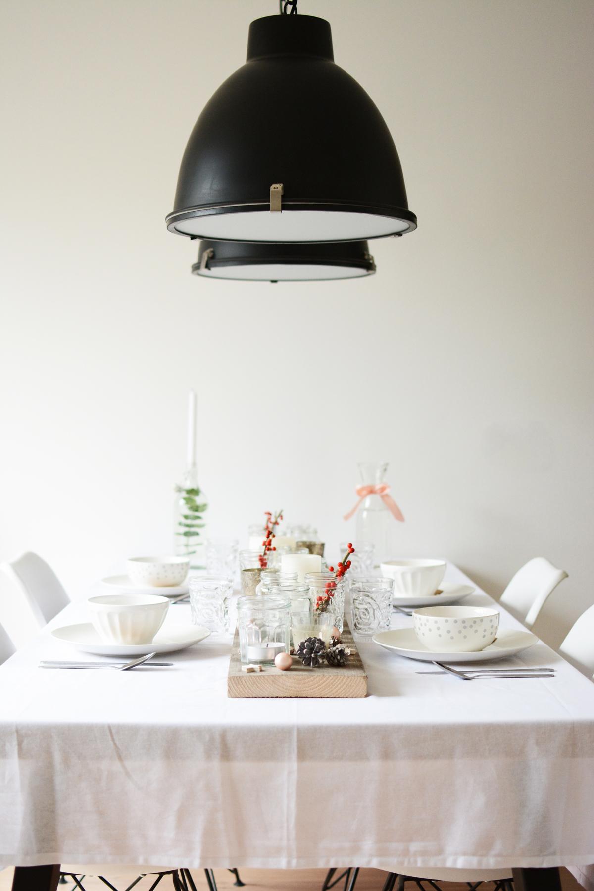 Witte kersttafel 3