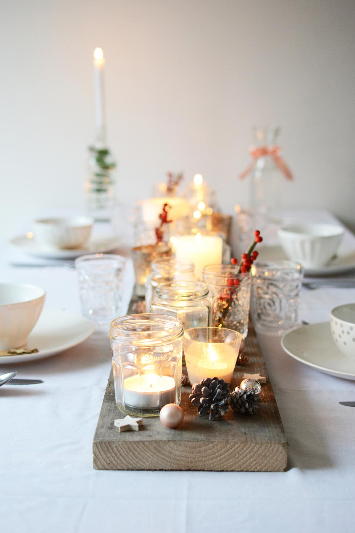 Witte kersttafel 42