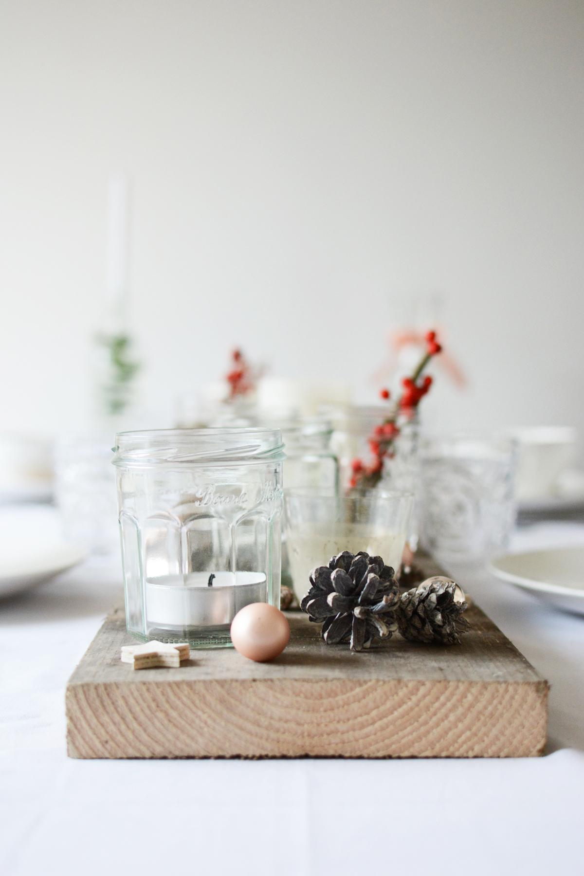 Witte kersttafel 5