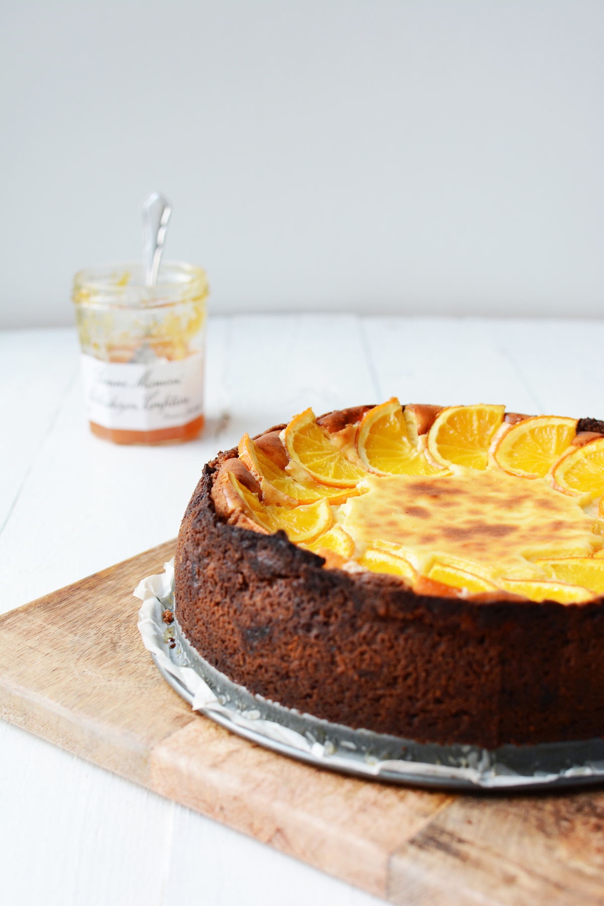Sinaasappel cheesecake met speculaas 10