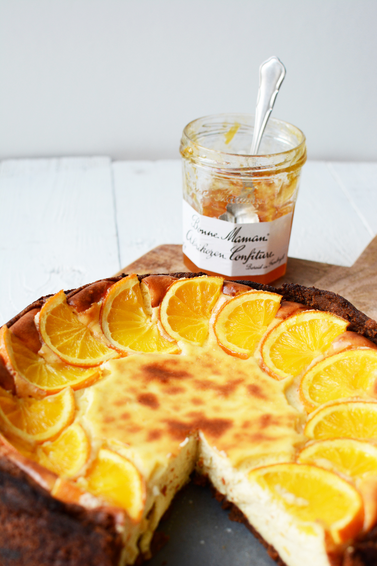 Sinaasappel cheesecake met speculaas 43